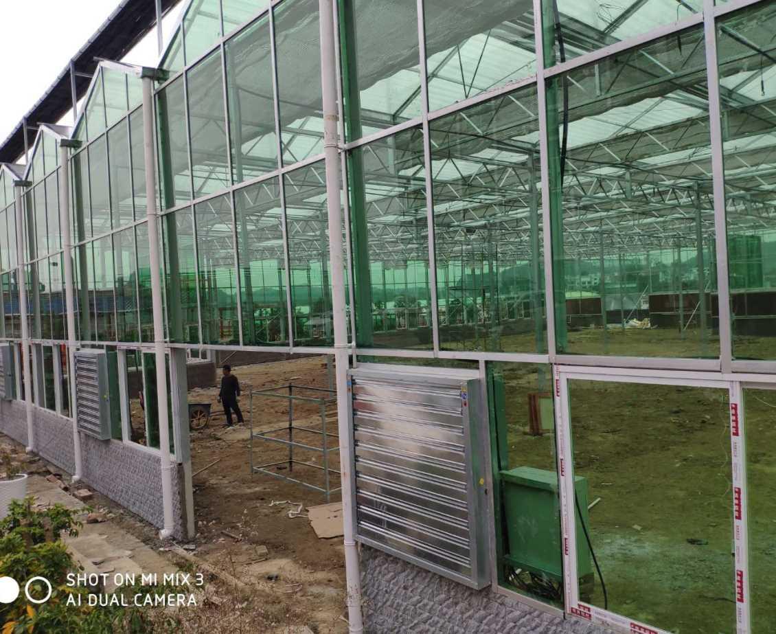 贵阳花溪区台湾农业创业园区玻璃温室建设项目